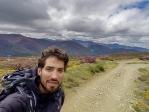 Brasileiro fez sozinho e a pé mais de 2 mil km até Santiago da Compostela