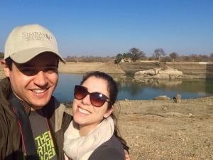 Casal brasileiro dá dica de safari em Botswana