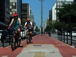 SP tem quase 500km de ciclovias que você pode usar para o transporte ou lazer