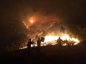 Chapada dos Veadeiros está ameaçada por incêndio fora de controle
