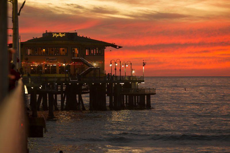 Píer de Santa Monica. - Foto: Fernando Navarro/Arquivo Pessoal