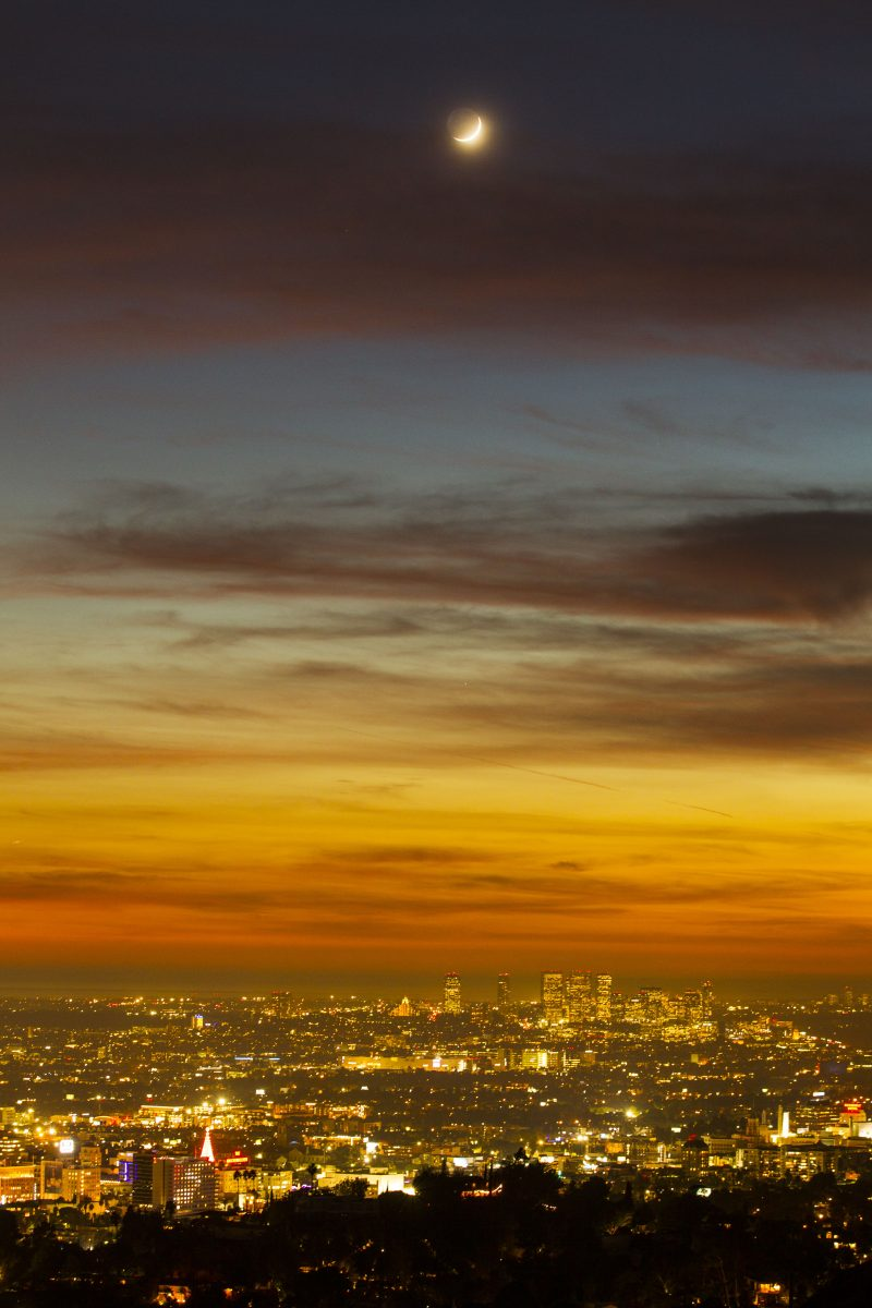 Pôr-do-Sol em Griffith. - Foto: Fernando Navarro