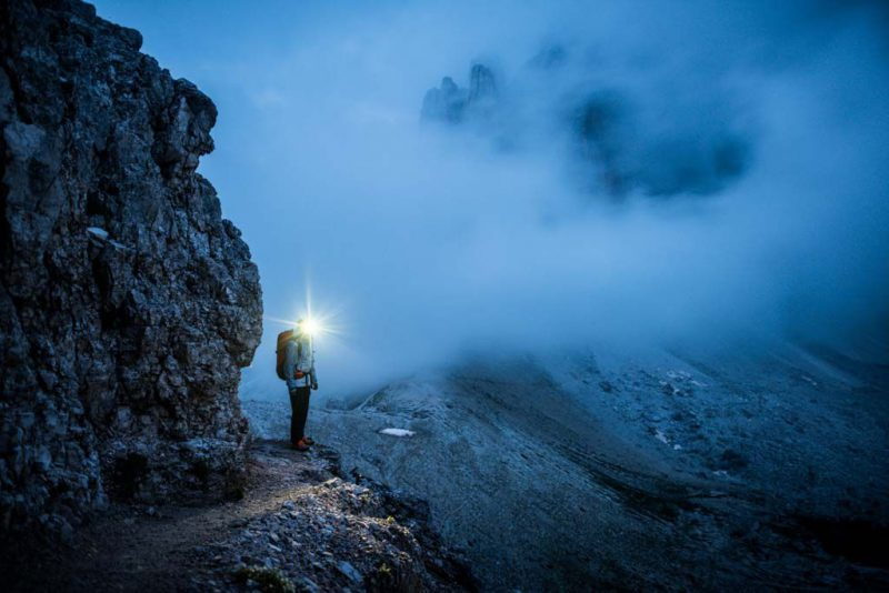 Sam Elias. Dolomites, Tre Cime, Italy. Photographer: Tim Kemple. The North Face Rights Expire: 09_10_16