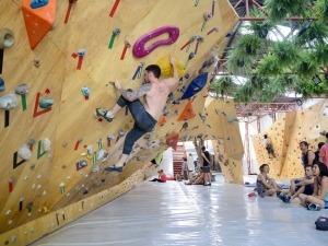 SP tem a 1ª etapa do Campeonato Brasileiro de Boulder neste sábado