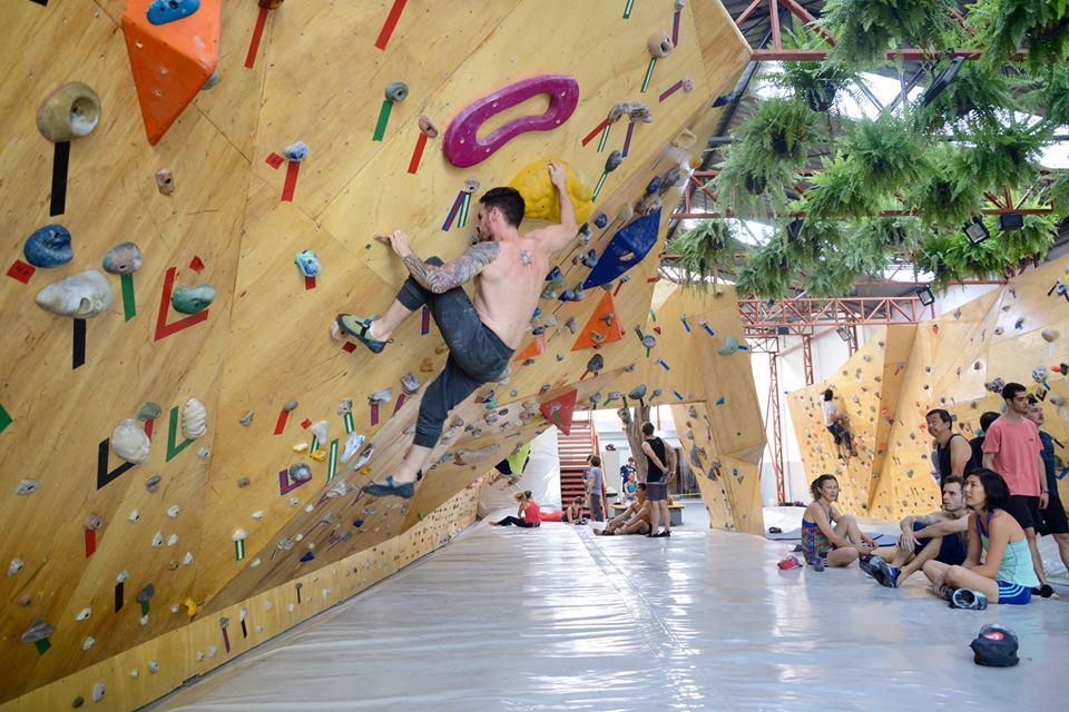 Casa de Pedra - Campeonato de Boulder