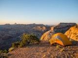 Utah é um ótimo destino para acampar.