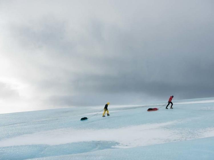 Atletas em altitude - Iceland
