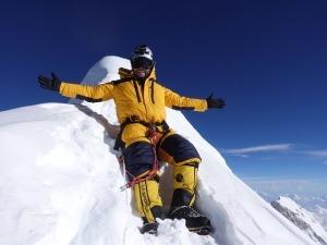 O sonho de criança que se realizou no cume do Manaslu