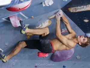 Felipe Ho faz evento para ir ao Mundial de Boulder em Munique