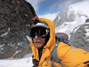 Moeses Fiamoncini acabou de voltar do Everest e já se prepara para escalar o K2