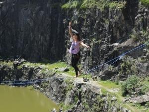 Florianópolis recebe festival de Highline das Mulheres