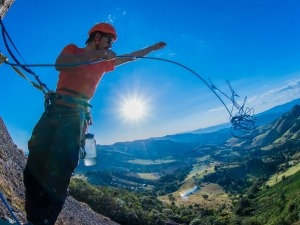 O outro lado da escalada: Os desafios de um conquistador de vias